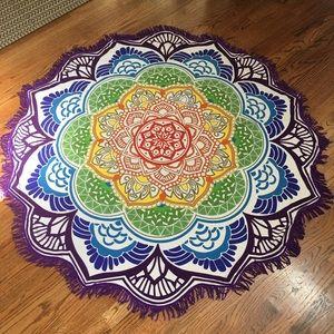 Other - Multi Color Meditation Blanket/Tapestry